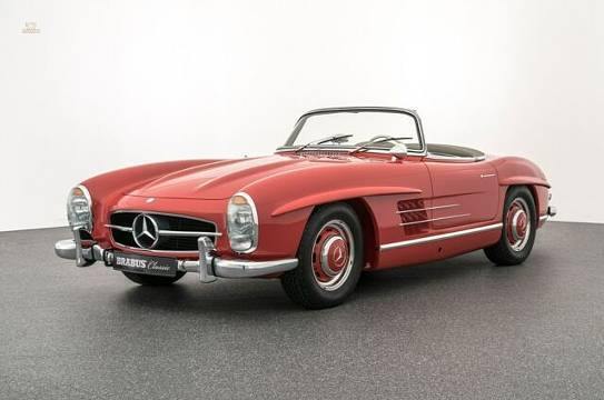 Mercedes-Benz 300 SL Roadster BRABUS Classic Restauration