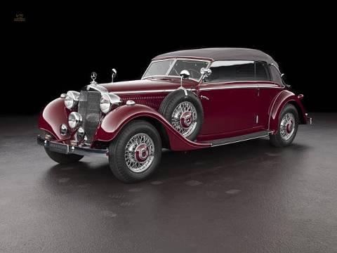 Mercedes-Benz 320 Cabriolet B (1937)  Das Vorkriegs-Erfolgsmodell Mercedes-Benz 320 als viersitziges Cabriolet B