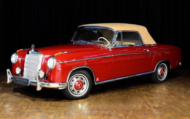 Mercedes-Benz 220 S Cabriolet (1956)  Bildschönes Mercedes-Benz 220 S Cabriolet A - Damals wie heute ein Traumcabrio