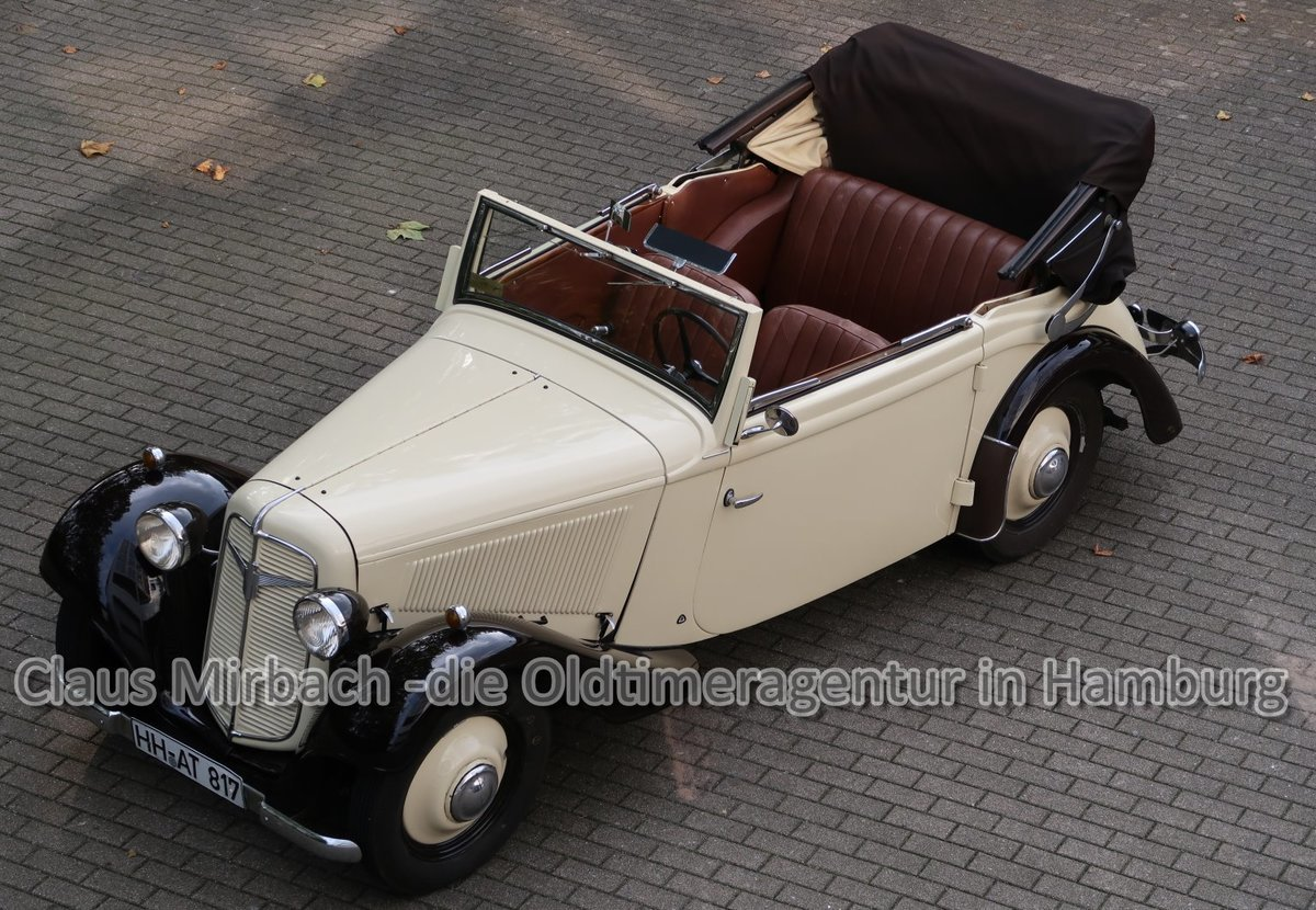 herando adler trumpf junior cabriolet 1937. Black Bedroom Furniture Sets. Home Design Ideas