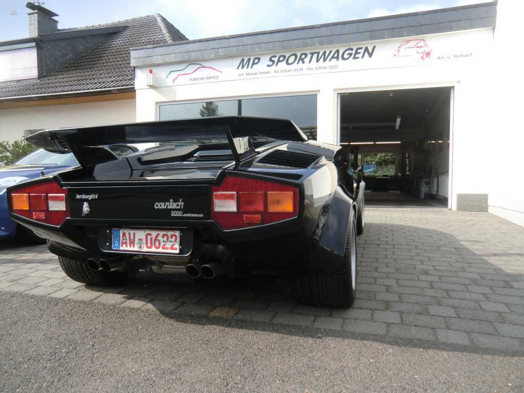 Herando Lamborghini Countach 5000 S Qv Deutsches Fahrzeug 2 Hand