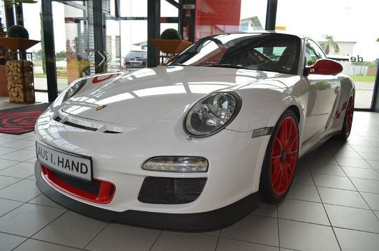 Porsche 911 GT3 RS Weiß