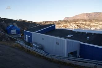 Fabrik mit Lagerhalle