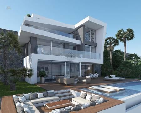 Villa außen