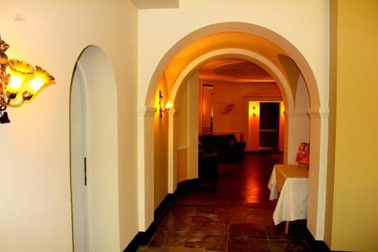 Café Eingangsbereich