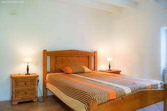 Doppelschlafzimmer im Halb-Geschoss