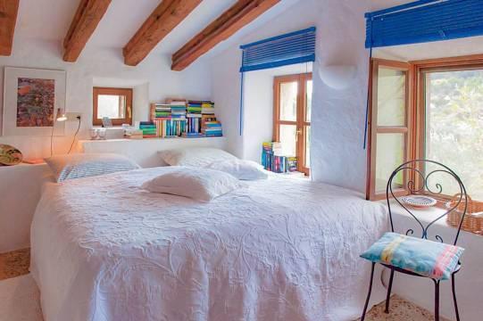 ...Schlafzimmer auf der Empore