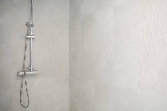 ... mit großer Dusche