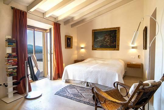 Doppelschlafzimmer mit großem Balkon...