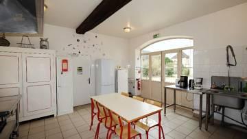 Wirtschaftsgebäude - Küche