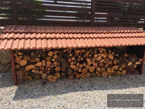 Ideal zur Lagerung von Holz