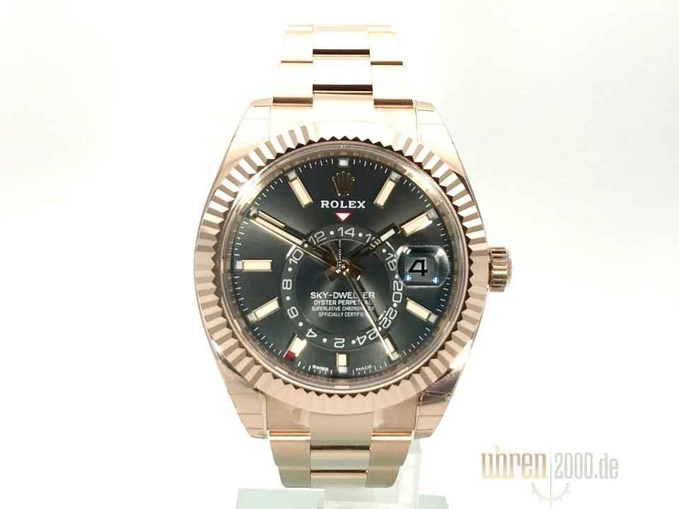 Rolex Sky-Dweller Everose-Gold Ref. 326935 Rhodium 75194f2761b