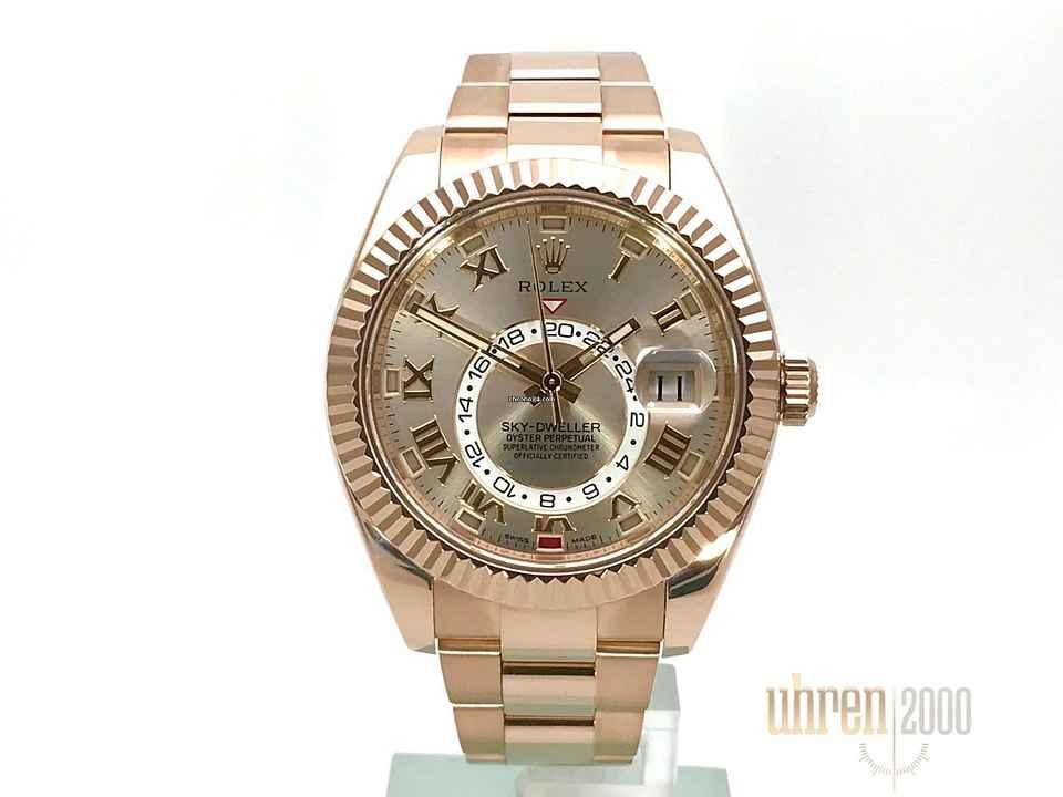 Rolex Sky-Dweller Everose-Gold Ref. 326935 7273c840d73