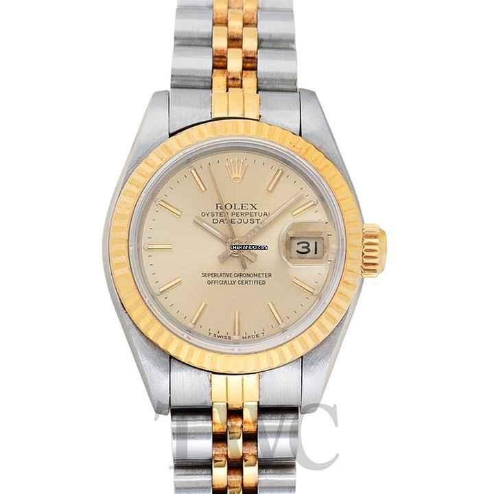Rolex Datejust Lady Steel   Y Gold Champagne Ø26mm - 69173 Champa 549d3921e1f