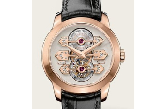 Girard Perregaux Girard-Perregaux Complications Tourbillon · Tourbillon with 3 Gold Bridges 99193-52-002-BA6A