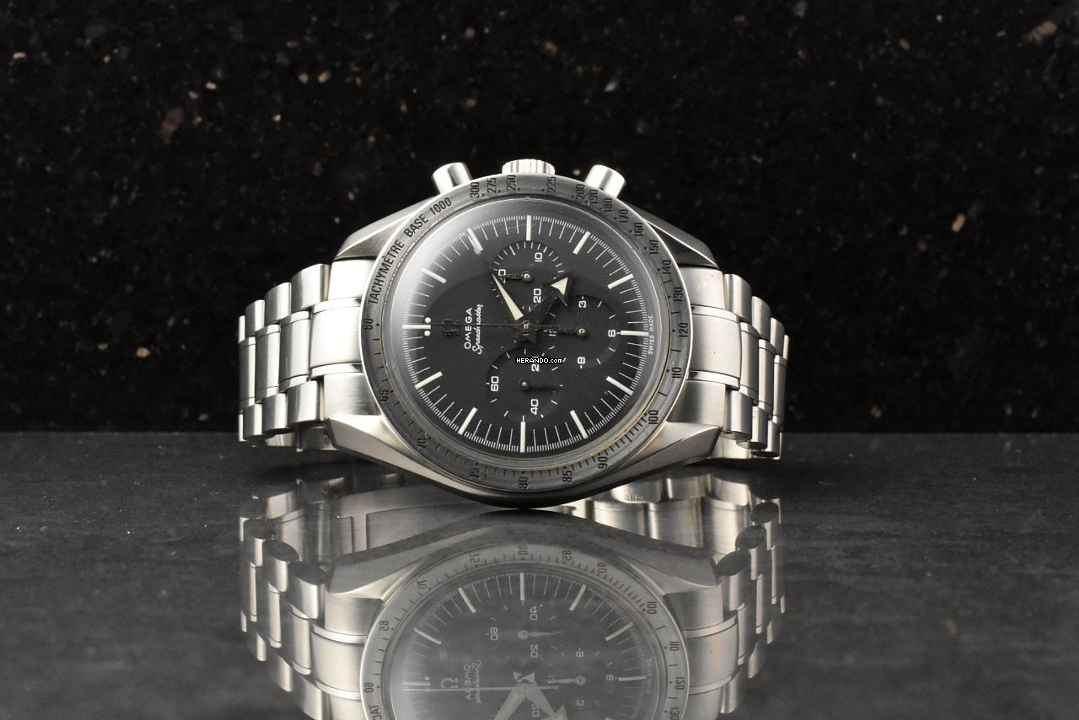 2bf647746 Omega Speedmaster Broad Arrow 1957 Chronograph Referenz 3594.50
