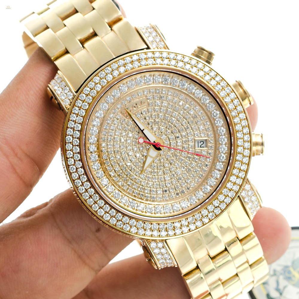 Herando Joe Rodeo Diamant Classic Gold Herren Uhr Gold1