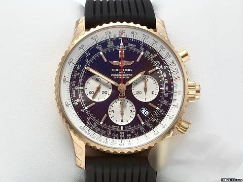 Breitling Navitimer 1 B03 Chronograph Rb0311 Rosegold 2018 Automatik Gold