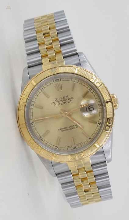 Rolex Datejust Turn-O-Graph Stahl   Gold 16263 f052f48bfec