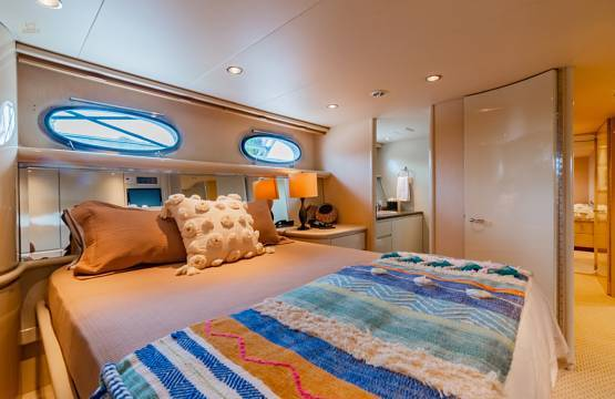 VIP STATEROOM - STARBOARD