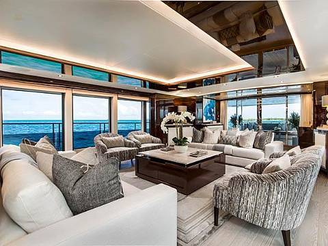 Sunseeker 131 Yacht - Saloon