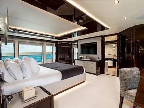 Sunseeker 131 Yacht - Master Stateroom