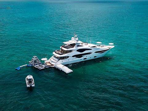 Sunseeker 131 Yacht with Tenders and Toys