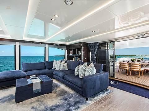 Sunseeker 131 Yacht - Skylounge