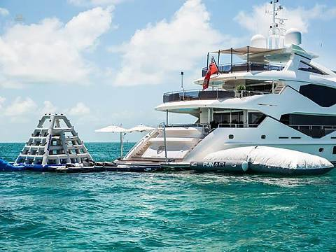 Sunseeker 131 Yacht with Toys